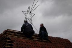 2006 Kerststal afwerken